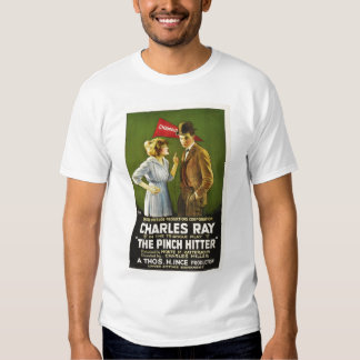 Charles Ray Pinch Hitter silent movie 1917 T Shirts