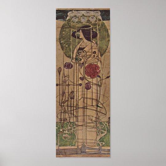 Charles Rennie Mackintosh Art Nouveau Poster