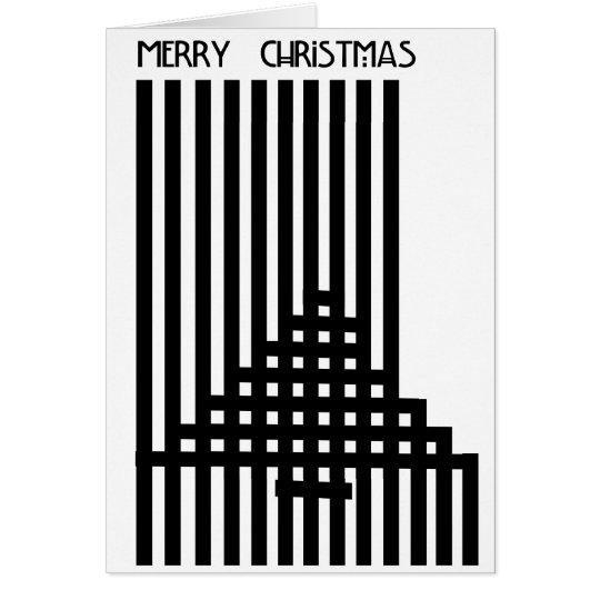 Charles Rennie Mackintosh Inspired Christmas Card