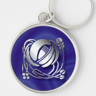 Charles Rennie Mackintosh Rose Key Ring