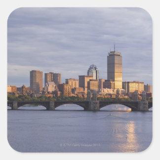 Charles River and The Longfellow Bridge Sticker