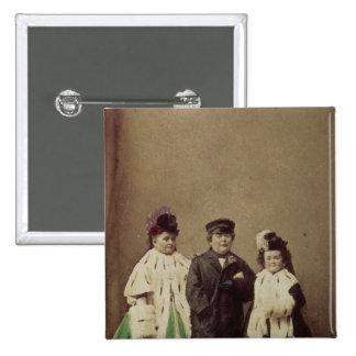 Charles Sherwood Stratton 15 Cm Square Badge