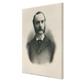 Charles Stewart Parnell 2 Canvas Print