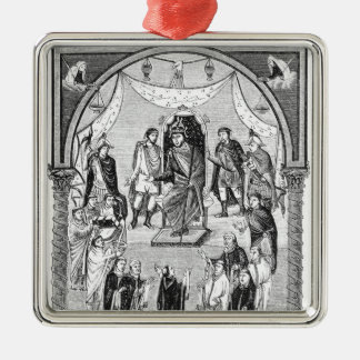 Charles the Bald, King of France Christmas Ornament