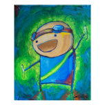 """Charles the Raver 24x30"""" Posters"""