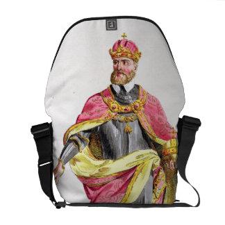 Charles V (1500-58) from 'Receuil des Estampes, re Messenger Bags