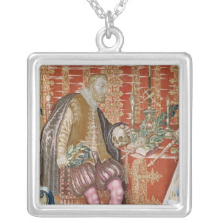 Charles V  from 'The Tapestry of Charles Silver Plated Necklace