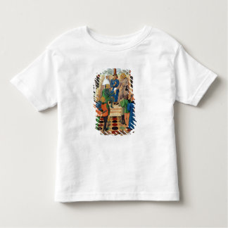 Charles VII  giving a document to Joan of Arc T-shirt