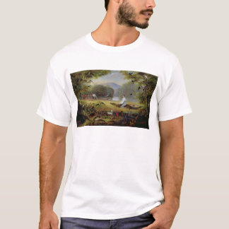 Charles Waterton capturing a cayman, 1825-26 T-Shirt