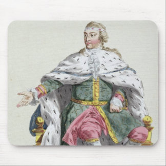 Charles XII (1682-1718) King of Sweden from 'Receu Mouse Mat