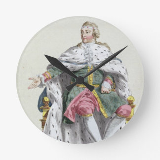Charles XII (1682-1718) King of Sweden from 'Receu Round Clock