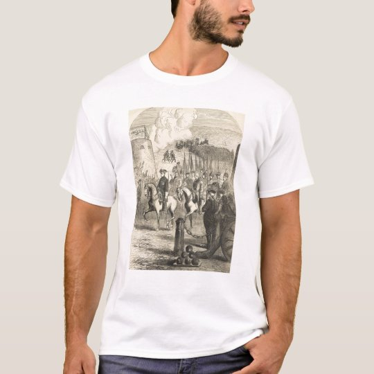 Charles XII of Sweden entering Copenhagen T-Shirt