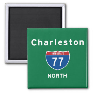 Charleston 77 magnet