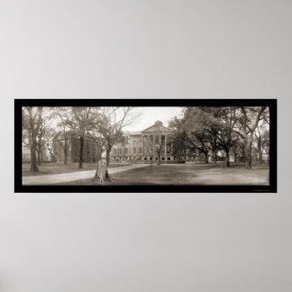 Charleston College SC Photo 1909 Poster