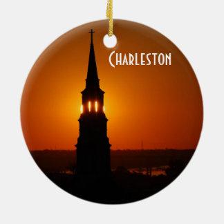 Charleston Custom Circle Ornament