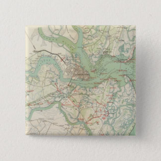 Charleston, defenses 15 cm square badge