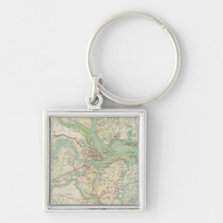 Charleston, defenses key ring