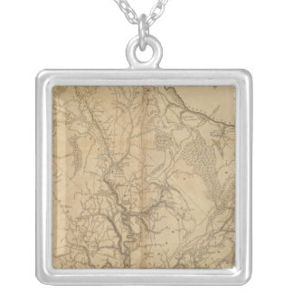 Charleston District, South Carolina Silver Plated Necklace