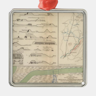 Charleston Harbor, Army of the Potomac operations Christmas Ornament