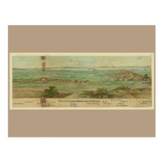 Charleston Harbor South Carolina (1860-1865) Postcard
