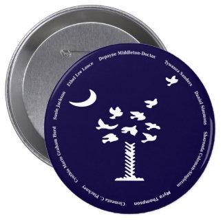 Charleston Love 10 Cm Round Badge