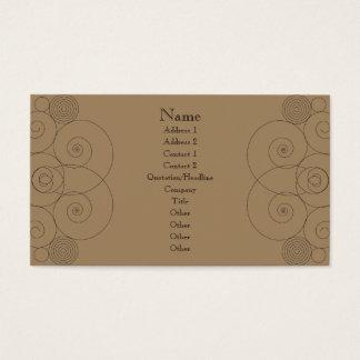 Charleston - Milk Chocolate Business Card