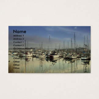 Charleston, OR Harbor Business Card