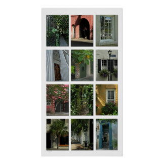 Charleston Portals Photo Poster Print