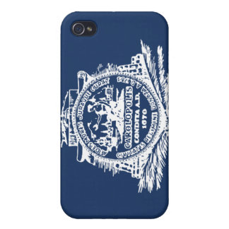 Charleston SC Flag iPhone 4/4S Cover