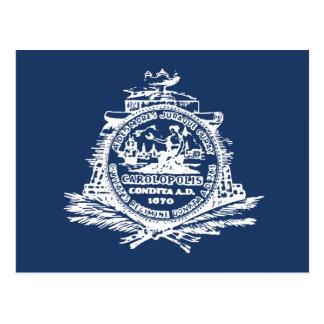 Charleston, SC Flag Postcard