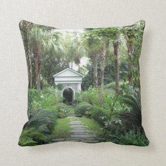 Charleston SC Palmettos Garden & Gazebo Pillow