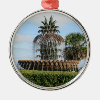 Charleston SC Pineapple Fountain Ornament