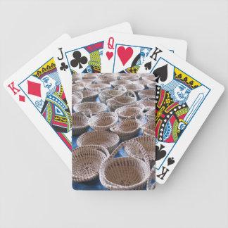 Charleston SC Sweetgrass Baskets Playing Cards