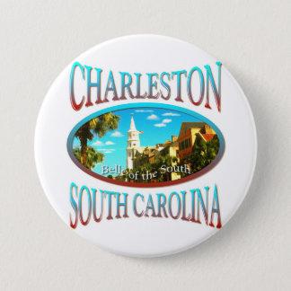 Charleston South Carolina 7.5 Cm Round Badge
