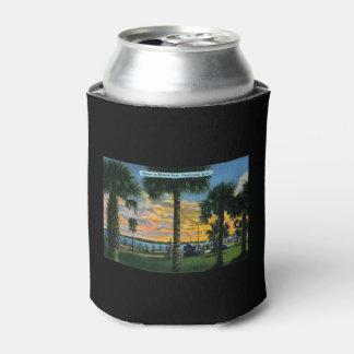 Charleston, South Carolina, Battery Park, Vintage Can Cooler