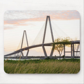 Charleston South Carolina Bridge - Cooper River Mouse Mat
