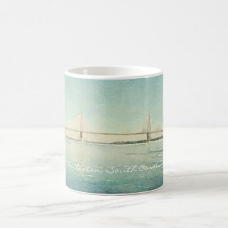 Charleston South Carolina Bridge Watercolor Cup