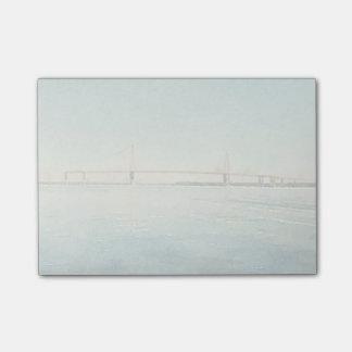 Charleston South Carolina Bridge Watercolor Print Post-it Notes