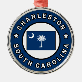 Charleston South Carolina Christmas Ornament
