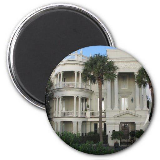 Charleston South Carolina Historic Home Magnet
