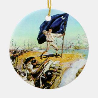 Charleston, South Carolina June 1776 Christmas Ornament