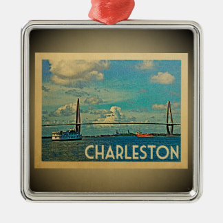 Charleston South Carolina Ornament Vintage Travel