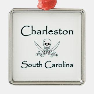 Charleston South Carolina Pirate Logo Christmas Ornament