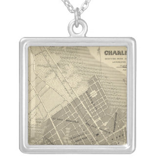 Charleston, South Carolina Silver Plated Necklace