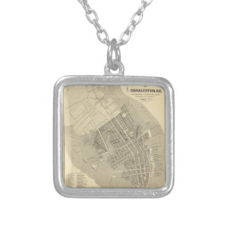 Charleston, South Carolina Silver Plated Necklace
