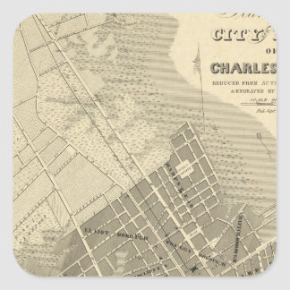 Charleston, South Carolina Square Sticker