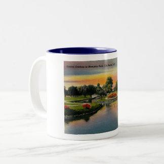 Charleston, South Carolina, Vintage Two-Tone Coffee Mug