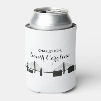 Charleston South Carolina Wedding Can Cooler