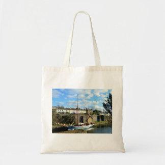 Charlestown Cornwall England Tote Bag