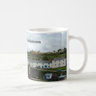 Charlestown Harbor Cornwall UK Poldark Location Basic White Mug
